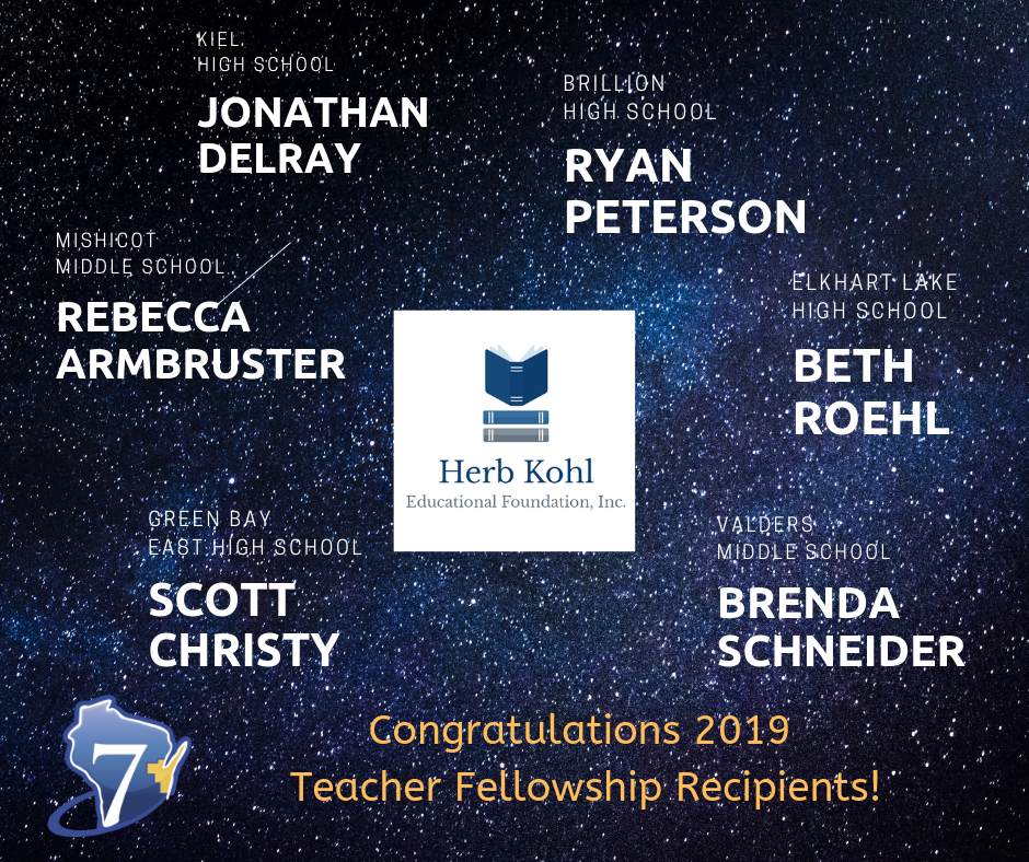 Herb Kohl Educational Foundation Announces 2019 Teacher Fellowship Recipients