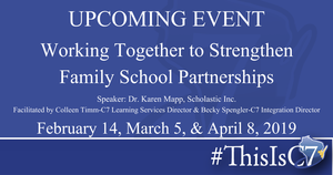Working Together to Strengthen Family School Partnerships