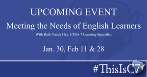 Meeting the Needs of English Learners